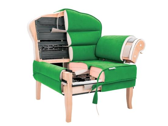 Productie mobilier tapitat