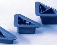 Picioruse plastic triunghi