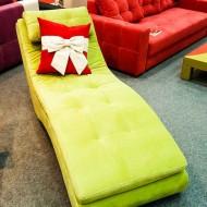 Fotoliu modern in culori de impact - verde electric