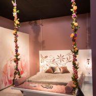 Dormitor cu leagan