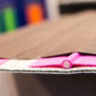 Detaliu lamele elastice cu fibra de sticla